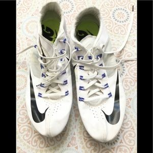 Nike Shoes Flywire Cleats White Black Stripe